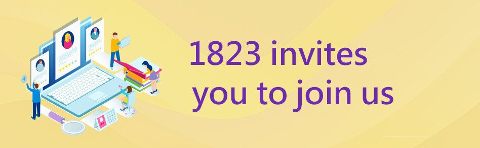 1823 invites you to join us